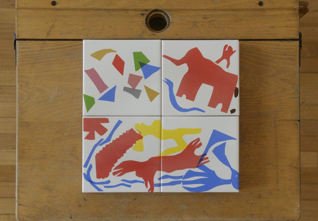 tiles elephant etc