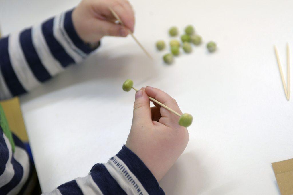 peas work
